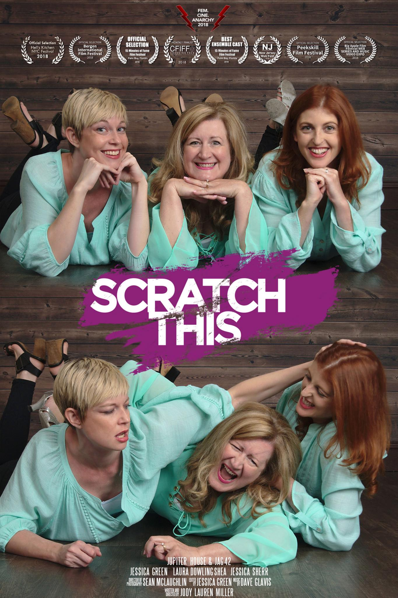 SCRATCH THIS Official Poster